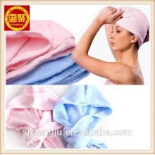 HAIR TOWEL HEAD WRAP turban Microfiber GYM SPA TOWEL