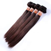 Cheap 100% remy peruvian tinte virgen tejer el pelo