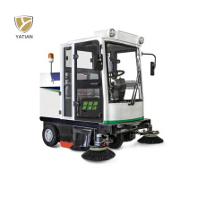 Easy Operation Three Wheel Electric Dust Sweeper with Seat