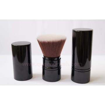 Excellent Quality Synthetic Nylon Hair Retractable Kabuki Brush