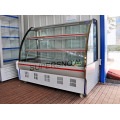 stainless steel refrigerated display showcase