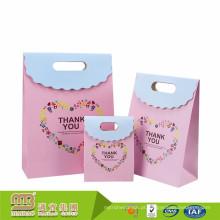 Feito no projeto feito sob encomenda do logotipo de China que imprime o produto doce do papel dos sacos do presente dos doces