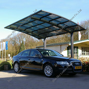 Good Quality Steel Structure Polycarbonate Carports for Car Park