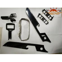 Molde de injeção de peça de plástico no padrão europeu de ferramentas
