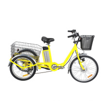 Alumium Frame 3 Wheels MID Motor Electric Tricycle