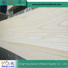 3mm Paulownia Edge Glued Board A Grade Kiln Dried and Sanded Both Sides