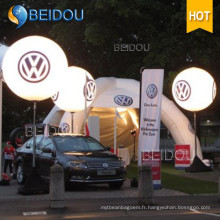 Moving LED Balloons Lighting Advertising Ballon gonflable pour trépied