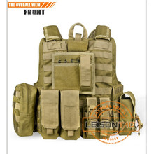 Bulletproof Vest Tactical Vest army vest ISO Standard Waterproof and Flame Retardant