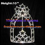 Bintang Berbentuk Crowns Grosir Pageant