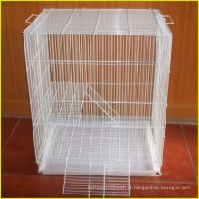 Galvanizado H tipo 3 camadas de arame para gaiola de coelho para frangos de frango