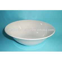Cuencos hechos a medida de cerámica, cuencos de cerámica llanos