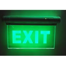Enseignes de sortie, éclairage de secours, urgence LED sortie signe, sortie lumière, LED