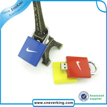 Lock Shape Custom USB Drive
