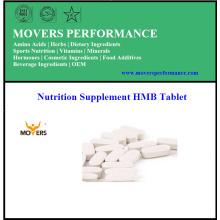 Fabrication de contrat Nutrition Supplémentaire Hmb Tablet
