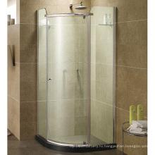 """Ванна и душ Невада 38"""" чисто акриловая Нео угловой душевая дверь"""