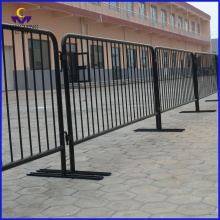 Removable standing  barrier for concert