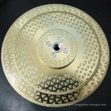lame de scie disque de diamant en pierre