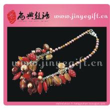 Les derniers bijoux de fantaisie de mode de pierres précieuses de printemps de Shangdian