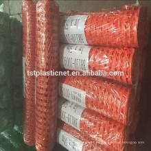 valla de seguridad de plástico expandible naranja niño