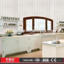 WPC / PVC Wainscoting decorativo impermeável para o interior