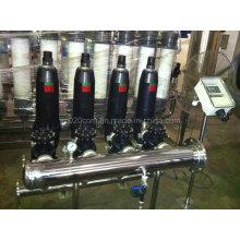 Filtre à disque automatique pour le traitement de l'eau d'irrigation