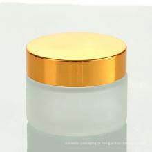 Pot en verre de verrerie en ustensiles de cuisine pour cosmétiques (NBG19)