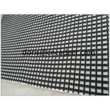 Géocomposite, géotextile composé de géogrille en fibre de verre / géogrille de polyester