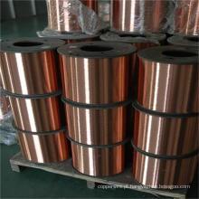 Freqüência cabo coaxial cobre fio de aço revestido CCS em carretel de plástico