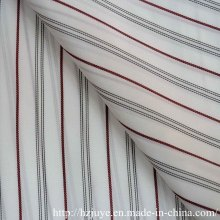 Yarn Dyed Fabric Lining (black and red stripe)