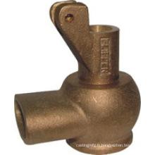 Produit de moulage au sable en bronze d'aluminium