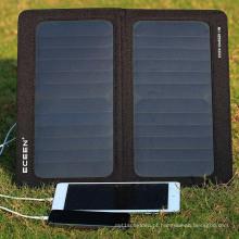 Material de silício monocristalino e 323mm * 355mm Open Size 5v 10w painel solar