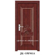 Porta de madeira de aço interior com soncap