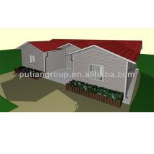 Maison légère en acier léger / maison