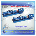 Tragbare hydraulische Abwasserschneckenpumpe