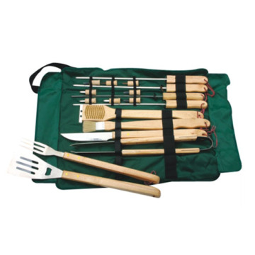18pcs BBQ set ensemble d'outils de gril
