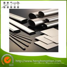 Tubo de titanio sin costura ASTM B338 estándar de alta pureza