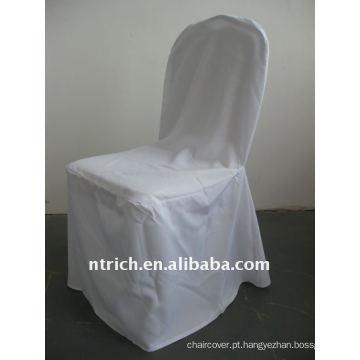Tampa da cadeira do poliéster de 100%, tampas da cadeira do hotel / banquete