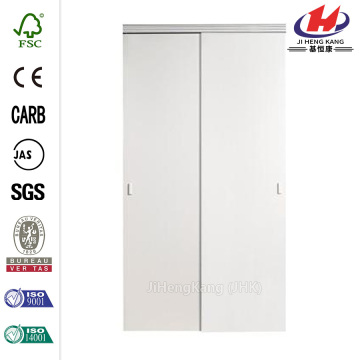 Solid White MDF  Closet Sliding Door