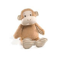 light brown monkey plush toy