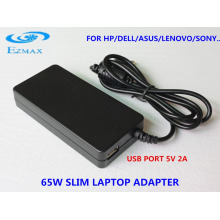 2016 Slim Adapter 65W Universal Netzadapter für Laptop