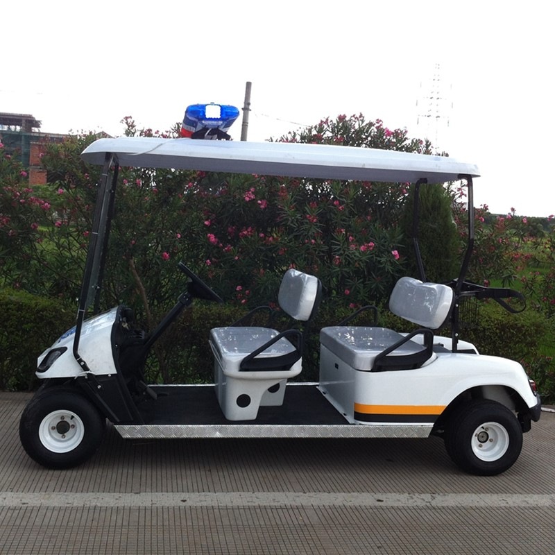 Mini billig polis golfbil
