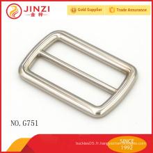 Boucle de ceinture en alliage de zinc