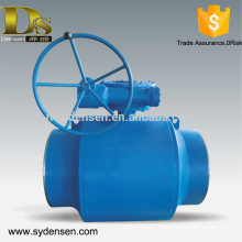 Densen offered big size ball valve for particular medium