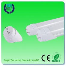 100lm / w alto lúmen 4ft dlc ul t8 economia de energia rgb dmx led tubo luz