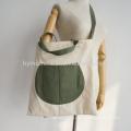 Eco содружественное breathable подгонянные дешевые дамы холст сумка