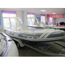 pescado de alta calidad kajak botes inflables para la venta