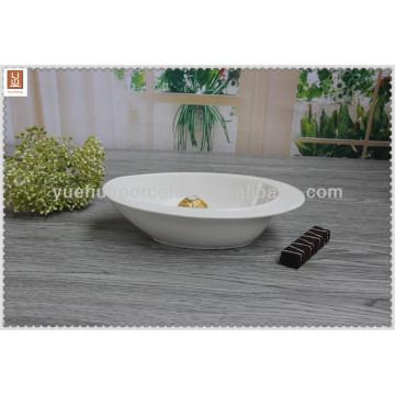 chaozhou white porcelain salad bowl / fruit bowl
