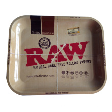 Rohe Jumbo-Deal große Metall Zigarette Roll Tray