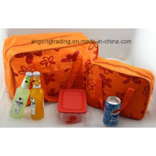 Cute Outdoor Picnic Cooler Bag Camping Lunch Ice Bag (JX-CB018-2)