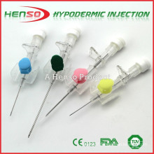 Henso Disposable IV Catheter with Injection Site